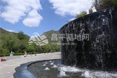 景仰园陵园水系景观