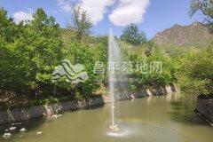 景仰园陵园水系喷泉