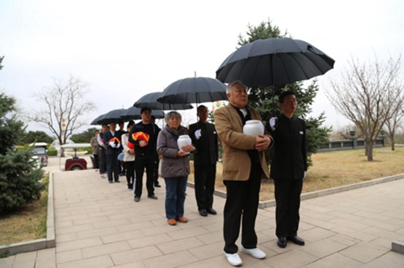 天寿就行公益节地生态集体安葬仪式