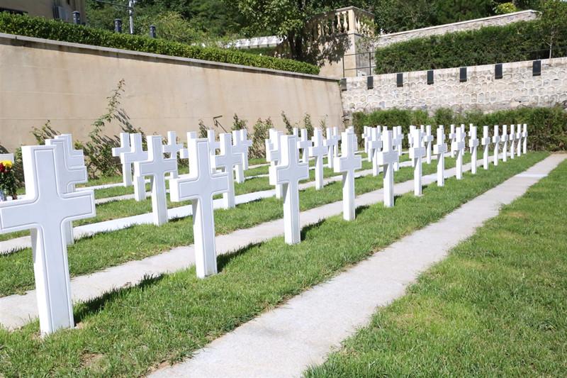 北京九公山公墓园区环境