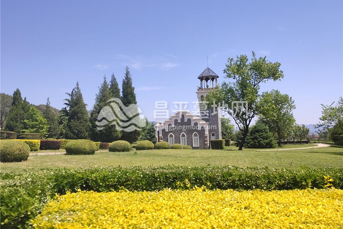 天寿陵园景观图