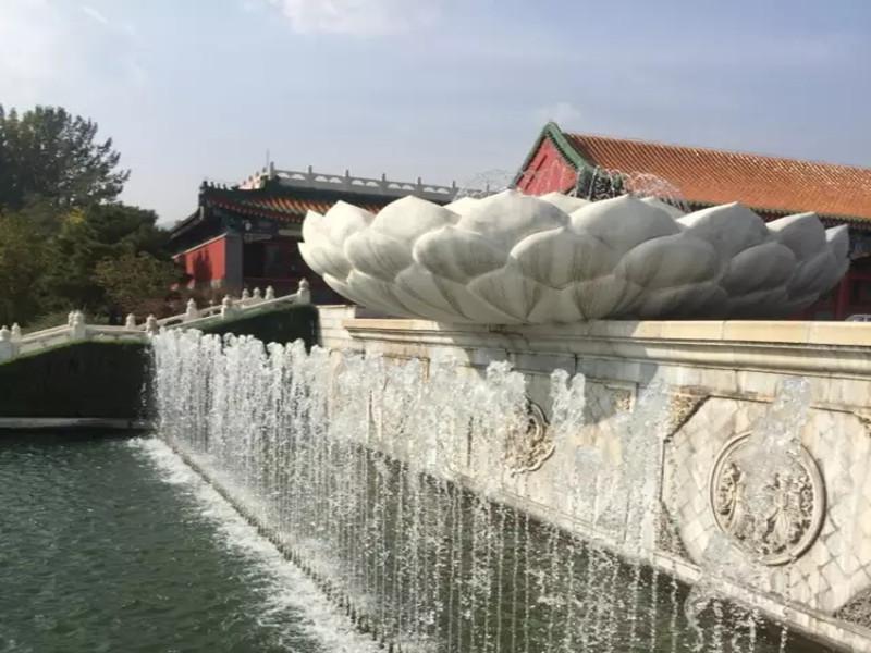 天寿陵园莲花池