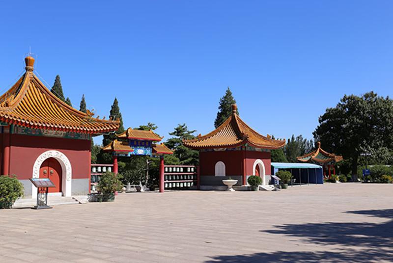 北京万安公墓景观