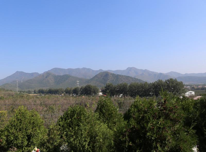 北京平谷归山陵园环境