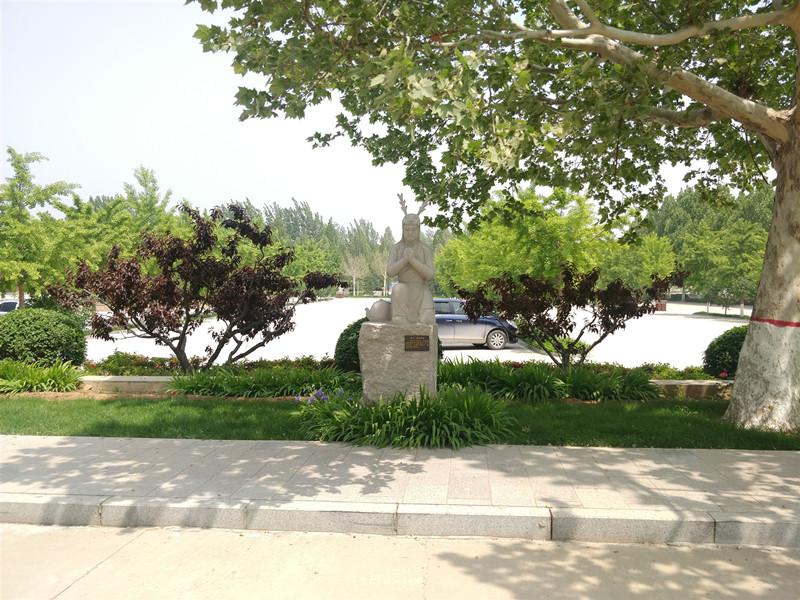 灵山宝塔陵园景观