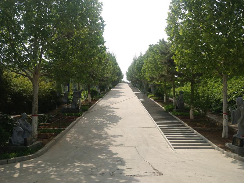 灵山宝塔陵园道路