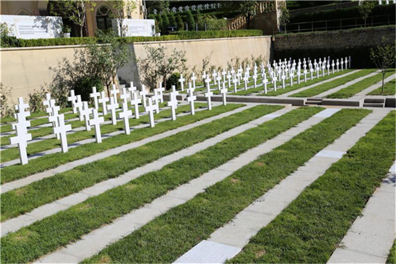 九公山纪念林树葬墓地