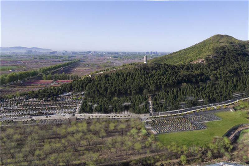 北京平谷公墓归山陵园景观