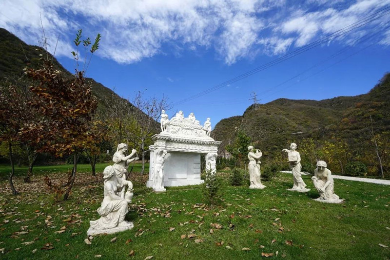北京九公山公墓景观
