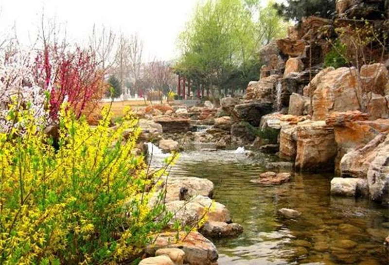 三河灵山宝塔陵园景观