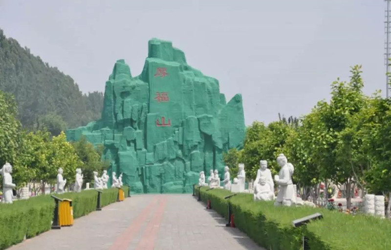 极乐园陵园景观