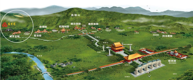 清东陵万佛园公墓地理位置