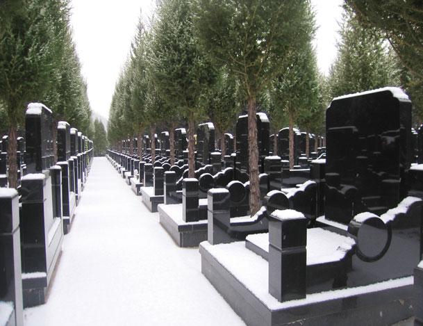 景仰园公墓墓区地