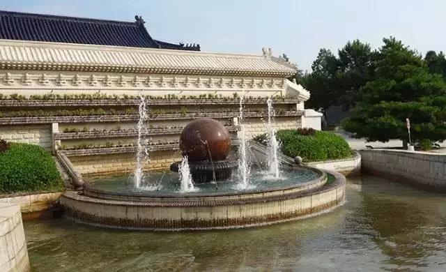 清东陵万佛园风水球