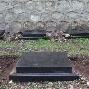 景仰园树葬卧碑