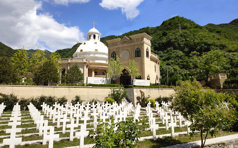 北京怀柔九公山长城纪念林墓地