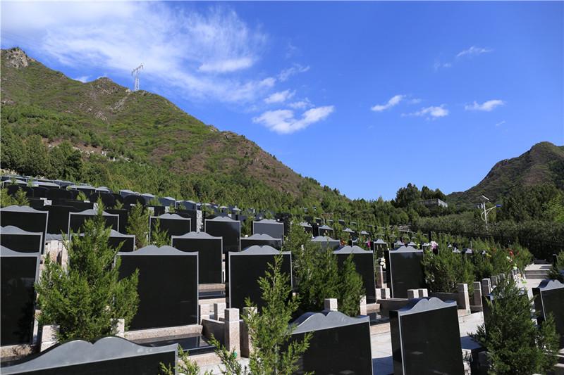 景仰园墓地区