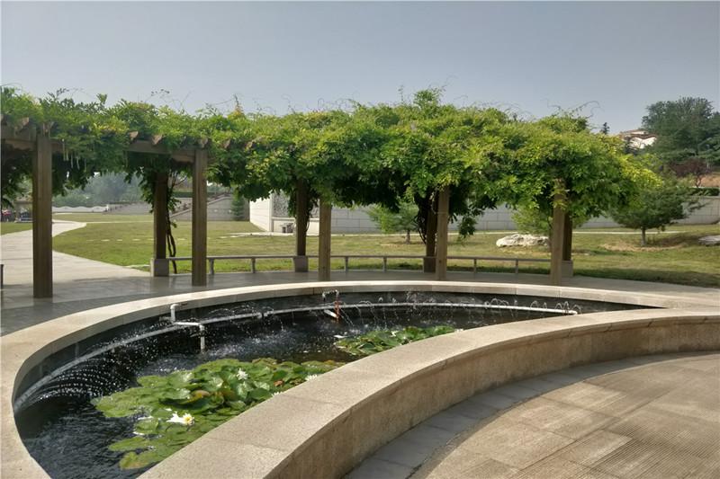 静安园公墓环境