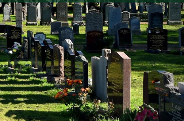 炎黄陵园墓地区