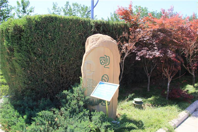天寿陵园墓地景观