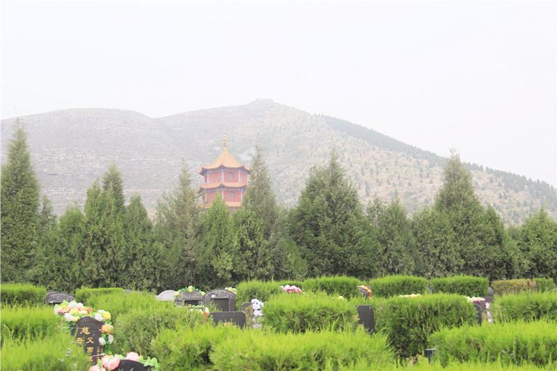 皇家龙山陵园环境