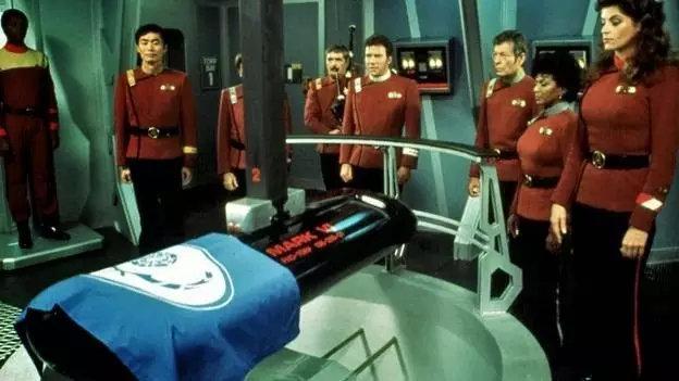 《星际迷航》中Spock的太空葬礼
