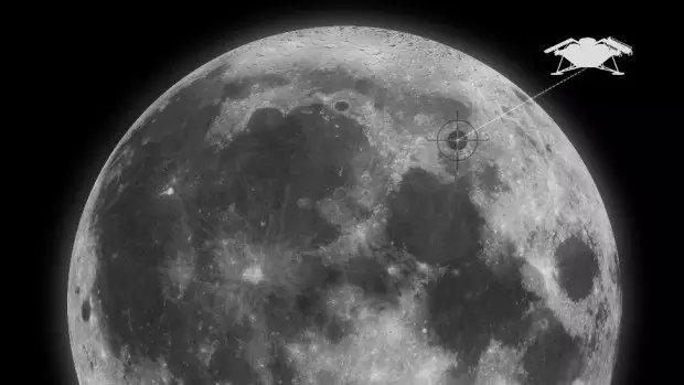 月球上的埋葬地点