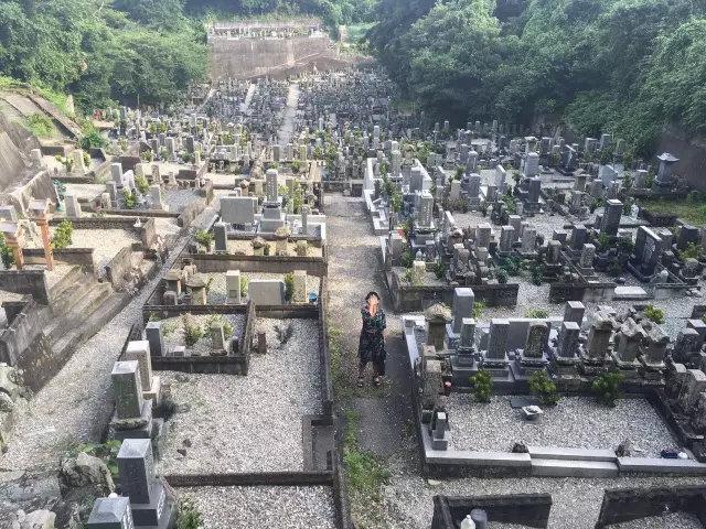 日本的墓园