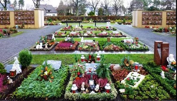 德国Mülheim - Friedhof Broich