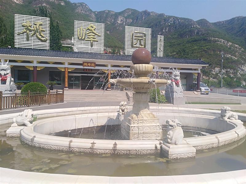 北京昌平墓地桃峰陵园景观