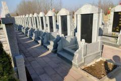 祥鹤园公墓B立碑园区