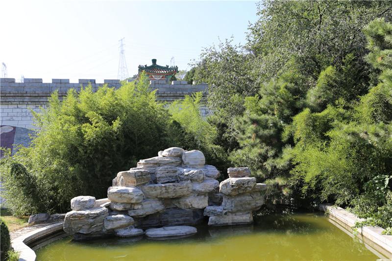 易县世界华侨陵园景观