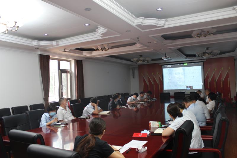北京顺义潮白陵园党员会议进行时