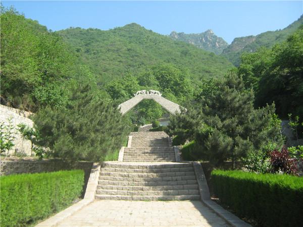 九公山长城纪念林
