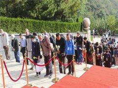 怀柔九公山铁军纪念园举行第十届公祭仪式