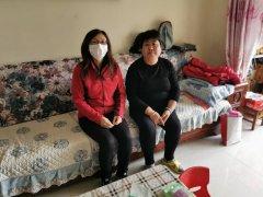 潮白陵园员工在重阳节来临之际开展敬老活动