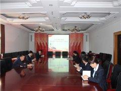 潮白陵园组织全体党员观看防腐倡廉专题片