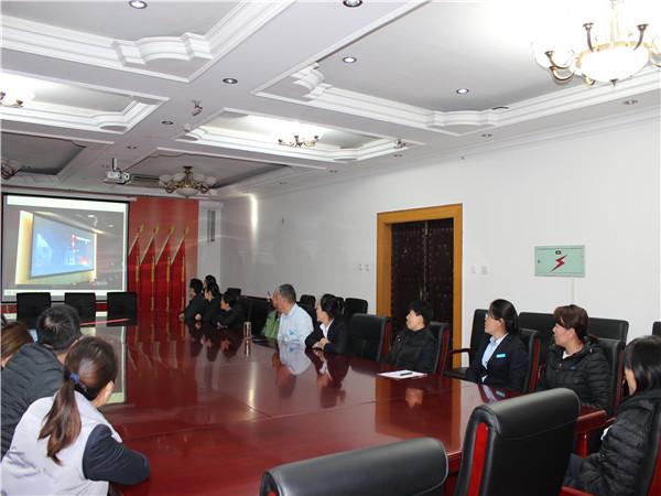 北京市潮白陵园组织线上消防安全培训讲座