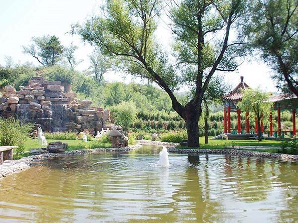 延庆福安园墓地水系景观