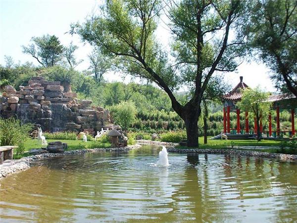 福安园公墓小溪
