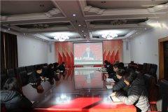 潮白陵园组织园中党员开展学习活动